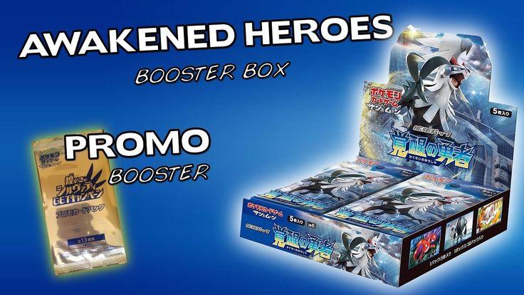 "Opening A Pokemon ""Awakened Heroes"" Booster Box!"