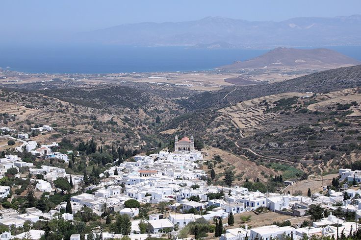 Lefkes village in Paros island