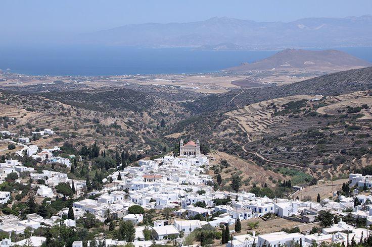 Lefkes village in Paros island