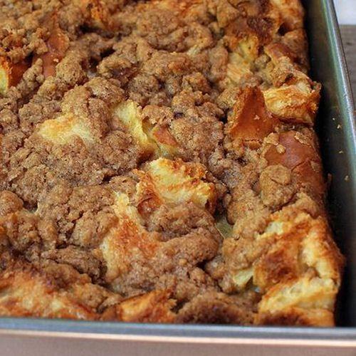 Cinnamon Baked French Toast Amazing!!!! New go to Sunday morning breakfast:)