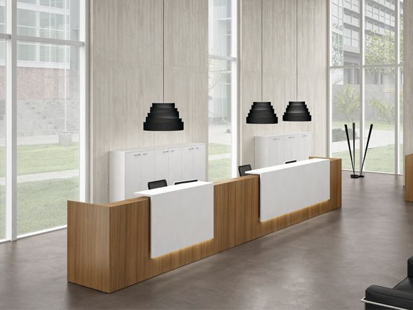 620 best images about reception desks on pinterest for Office counter design