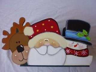Resultado de imagen para individuales navideños en madera country