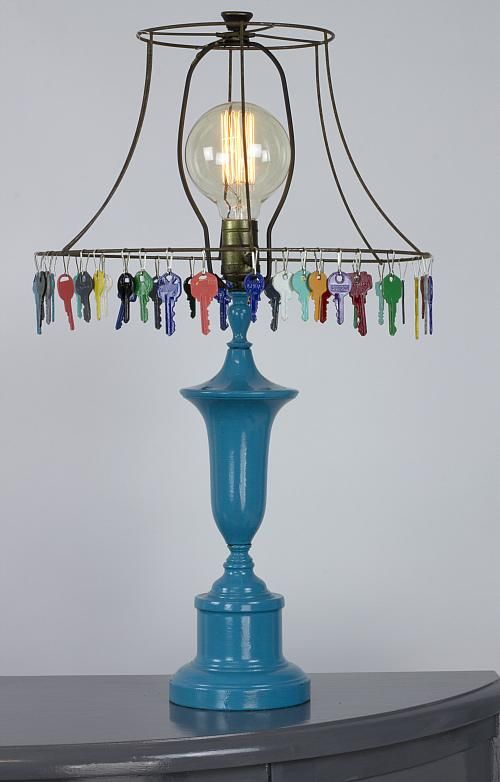 Glossy Color Lamp -- Add color to your house by creating this colorful lamp # maxxglossprize
