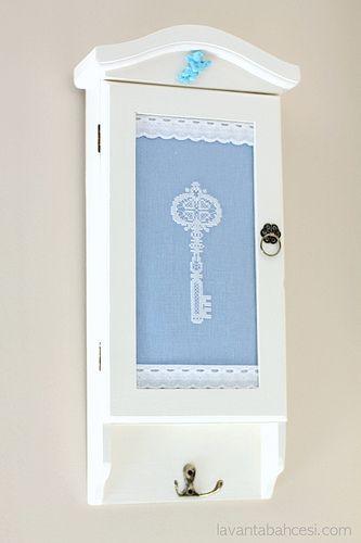 DIY Key rack by lavantabahcesi.com