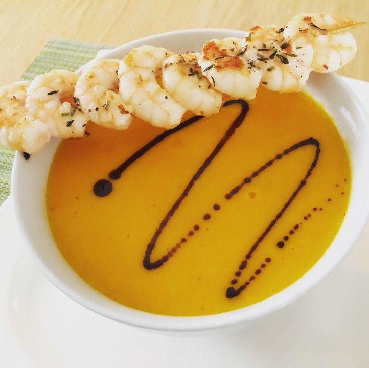 Kürbis Kokos Ingwer Suppe