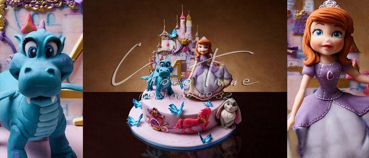 Торт на заказ принцесса София