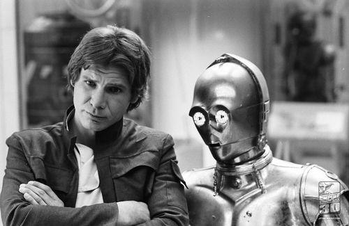 Star Wars: Hansolo, Harrison Ford, Stars War, Movies Harrison, C3Po, Dat Ass, Hans Solo, Starwars, Empire Strike