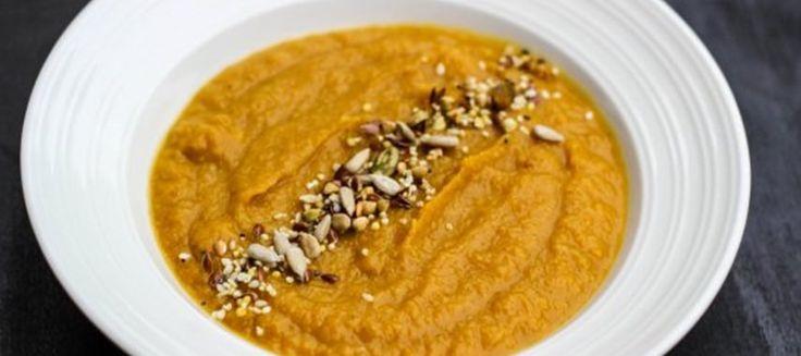 Как вкусно приготовить тыквенный суп пюре? Запеките тыкву с цветной капустой и создайте восхитительный кулинарный шедевр — суп пюре!