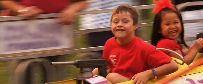 Making Smiles Happen  Navigating the crowds and congestion of a carnival can be a challenge, especially for people with disabilities. This, along with the expense, can limit family outings.
