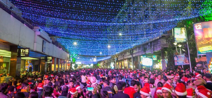 Christmas celebrations in Kolkata