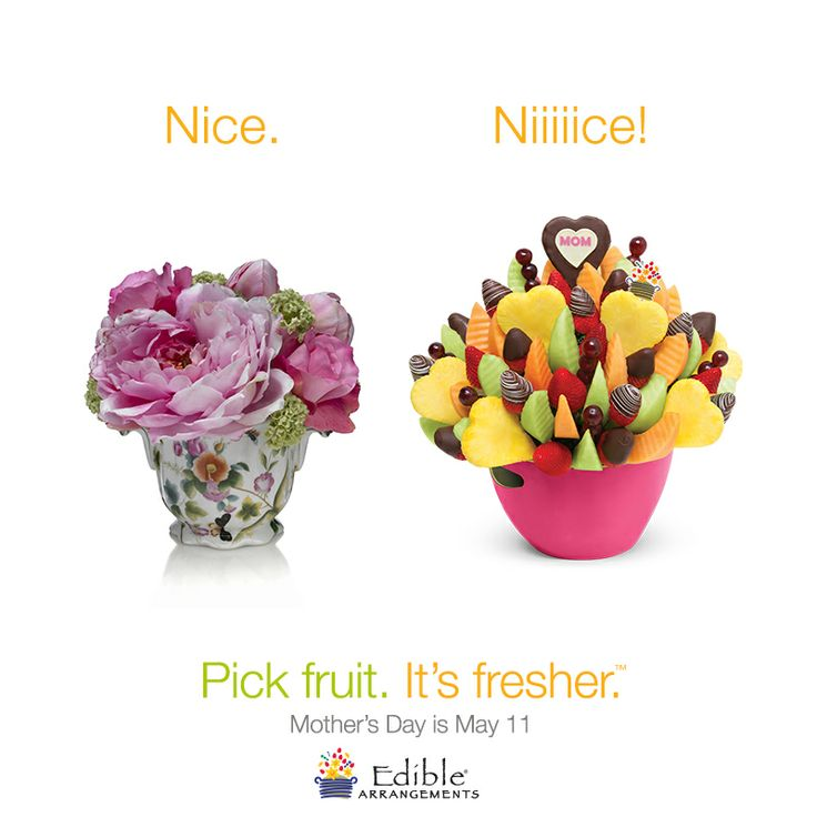 This Mother's Day be a gifted giver. Pick Fruit. It's Fresher.™