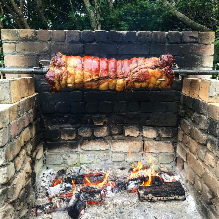 Lamb spit roast! 🐑🔥