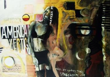 "Saatchi Art Artist Loredana Găină; Painting, ""American Vertigo"" #art"