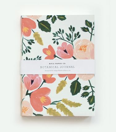 Ok, suffice it to say I just want all things Rifle Paper Co. in general. Botanical Journal - ROSE