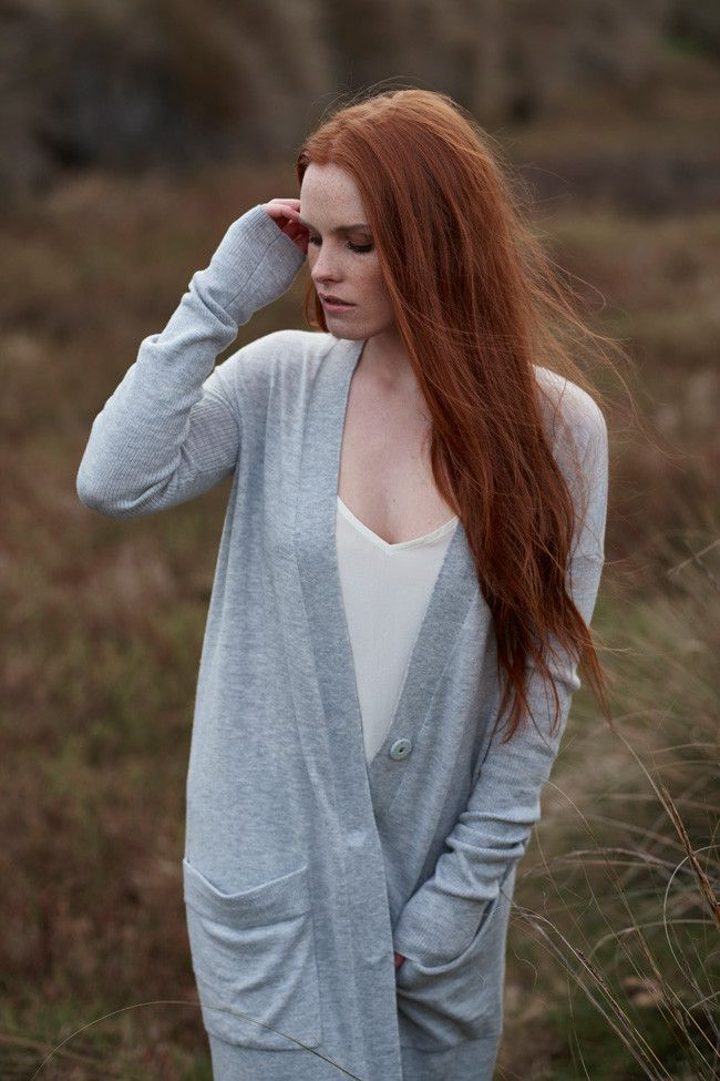 winter 2016 collection: sassind melbourne.  100% merino longline cardiagn $199  photographer: nikole ramsay hair + makeup: kate radford