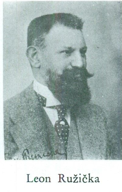 Ruzicka, Leon (1866-1931), collector of ancient coins; author of many studies (Koch NZ 1971 pl. 27)