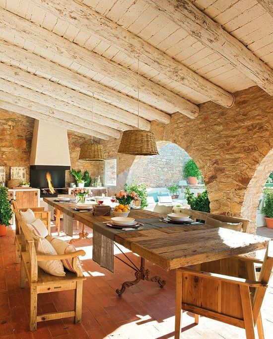 Spectacular Spanish home in the Costa Brava region.