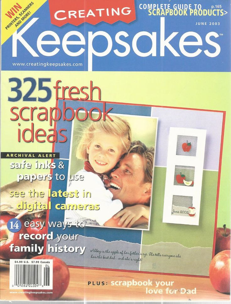Creating Keepsakes Magazine Fresh Ideas June 2003 Scrapbooking Paper Crafting #Doesnotapply