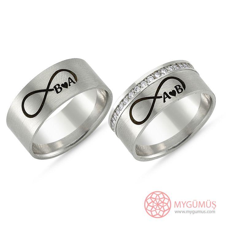 Gümüş Alyans MYA1007   #gümüş #alyans #çelik #yüzük #ring #wedding #evlilik #düğün #söz #nişan #mygumus #mygumuscom #çift #erkek #kadın #woman #man #moda #takı #jewellry