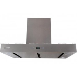 XtremeAIR 36 Inch Island Mount Range Hood with 900 CFM Centrifugal Blower, Stainless Steel Filters, Motor Container Oil Cup, Ultra Quiet Dual Squirrel Cage Motor, 4 Speed Heat Touch Sensitive Electronic Control, LED Lighting System w/ LCD Display.  http://www.emoderndecor.com/xtremeair-36-inch-island-mount-stainless-steel-range-hood-px04-i36.html
