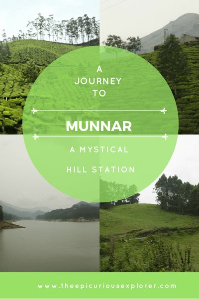 A journey to Munnar in Kerala India