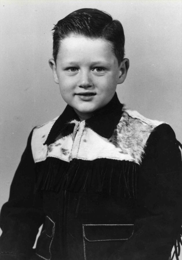 William Jefferson Blythe (Clinton), age five, 1952.