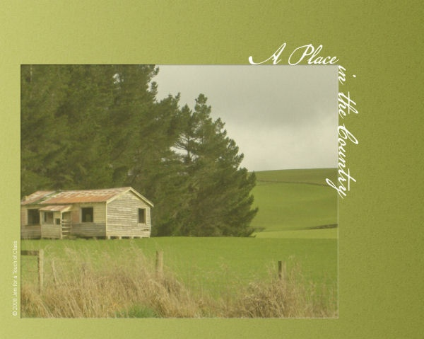 an old disused house on Waikawa Valley Road, Southland, New Zealand