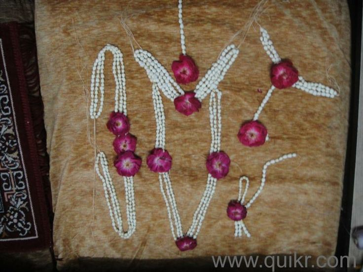Fresh Flower Jewellery Available in Surat for Mehendi/Haldi/Baby ...