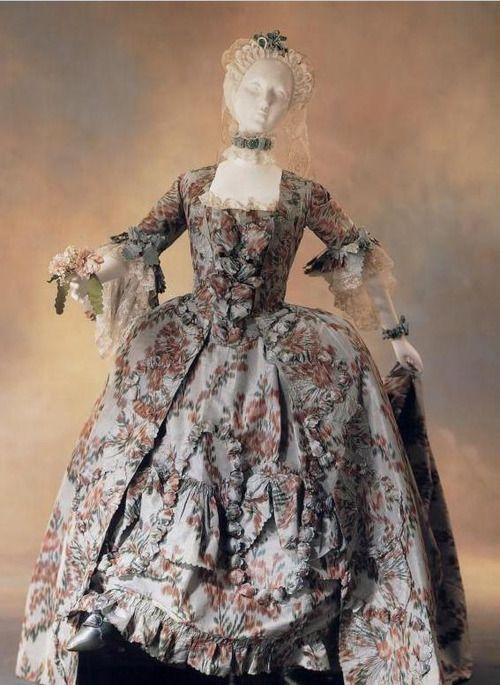 Robe à la française France c.1765