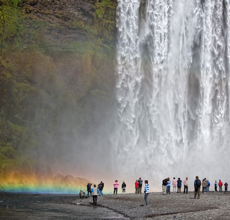 Skogafoss ©RTH Sigurdsson www.arctic-images.com  Find more geography resources on Discover-Geography.com