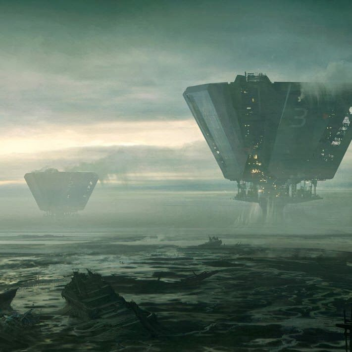 Oblivion Concept Art by Andree Wallin | CG Daily news ...
