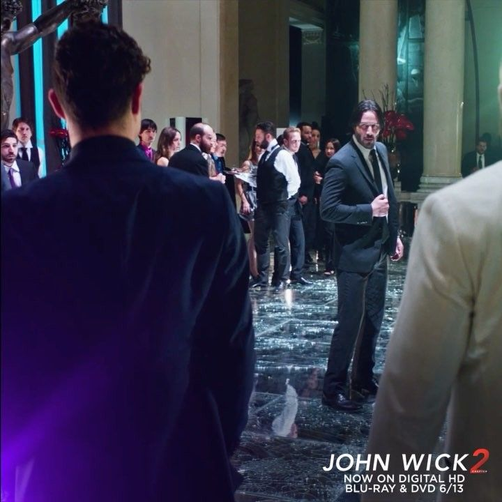 Hopelessly outnumbered. For John Wick, those are good odds.  #JohnWick2 . Now on Blu-ray, 4K Ultra HD & Digital HD. Link in bio.