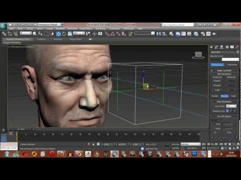 Look at constraints for a characters eyes in 3ds Max - YouTube
