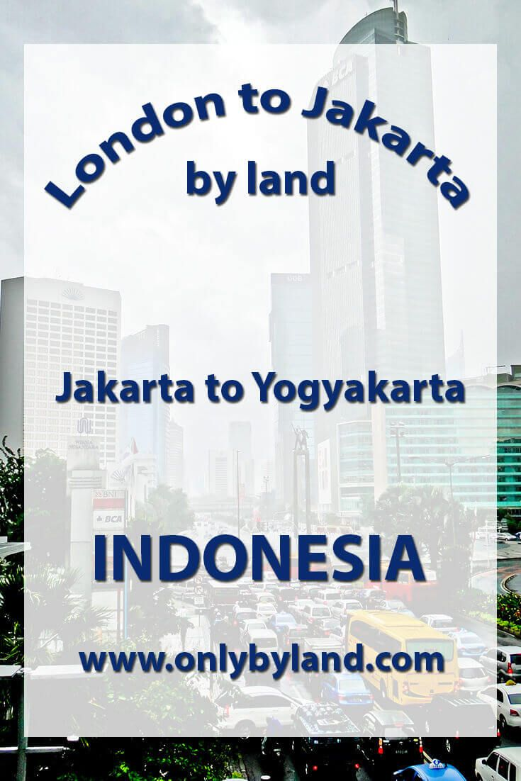 A visit to the points of interest of Jakarta including National Monument (and view of the city), Merdeka Square, Merdeka Palace, Istiqlal Mosque, St. Mary of the Assumption Cathedral, Jakarta, Jakarta History Museum, National Museum of Indonesia, Wayang Museum Taman, Mini Indonesia Indah before taking the bus to Yogyakarta, Indonesia