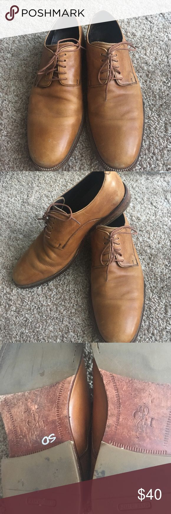 Cole Haan Shoes 12 Size 12 Cole Haan dress shoes with Nike Air technology. Very comfortable and in good condition. Has a few scuffs but in overall good condition Cole Haan Shoes