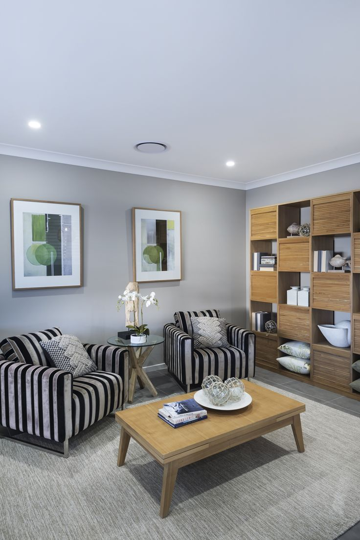 This zebra inspired, #swede #armchair is from Ausbuild's Deham display home.