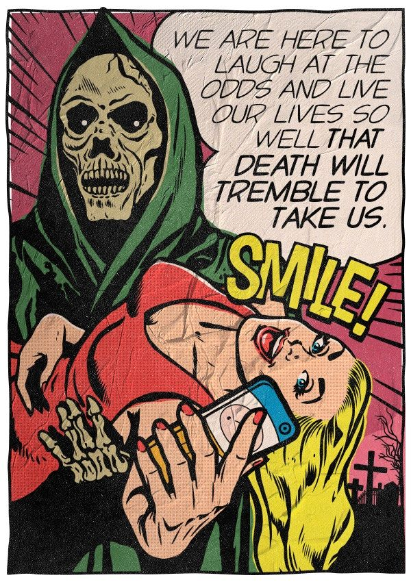 """""""Bukowski: The Pop Art Series"""" – Awesome Illustrated Bukowski-Quotes by Artist Butcher Billy"""
