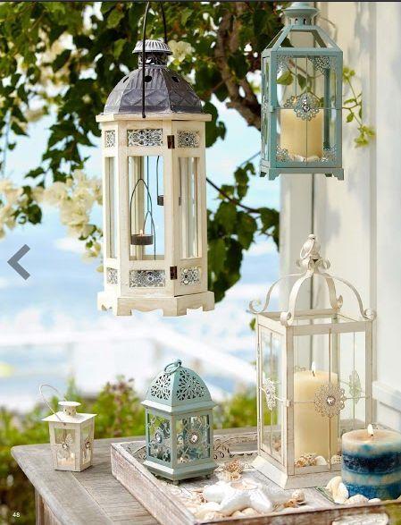 Lanterns In Balcony Decoration Balcony Decor Pinterest