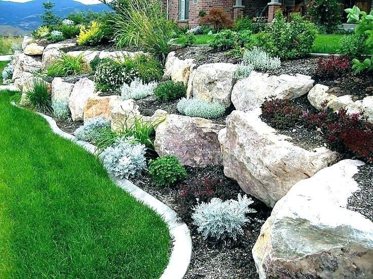 30 Most Beautiful And Attractive Rock Garden Ideas Modern Design In 2020 Outdoor Landscaping Landscaping With Boulders Diy Landscaping,Magazine Customer Service
