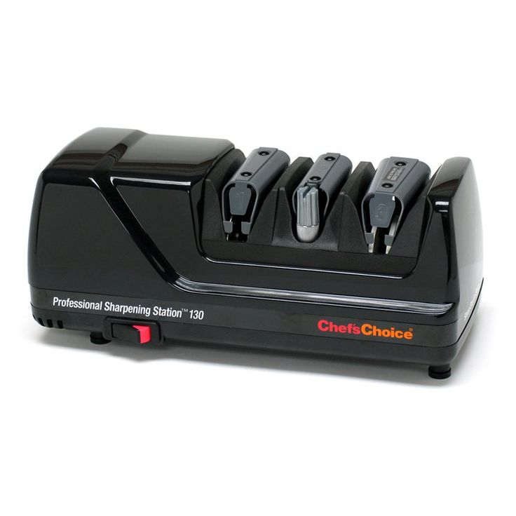 Chefs Choice Model 130 Professional Sharpening Station - Black - 130501