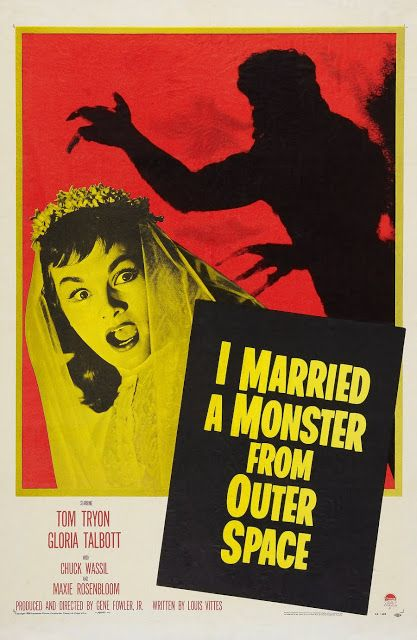 I Married a Monster from Outer Space Where Danger Lives: * Sci-Fi Poster Countdown