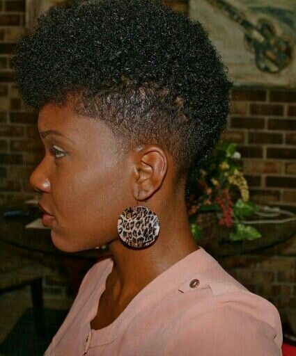 I like THIS one a LOT too!! :-) #NaturalHair #TaperedCuts