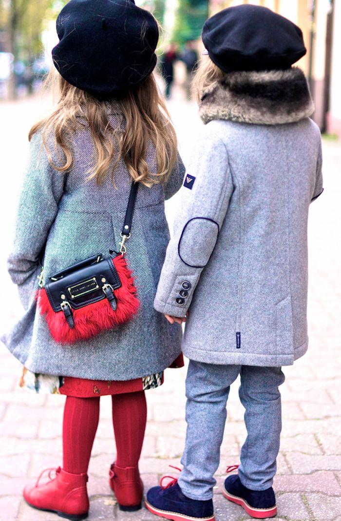 Red and grey | Vivi & Oli-Baby Fashion Life