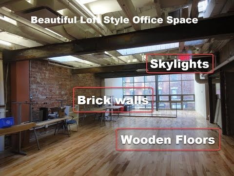 7,264 pc bureau style loft centre-ville Montreal