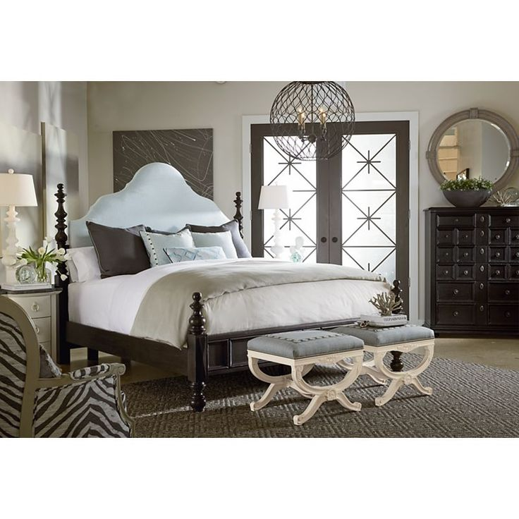 drexel bedroom set%0A Valentina Poster Bed from the Viage collection by Drexel Furniture