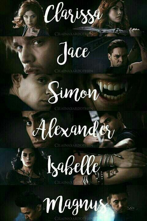 Plano de fundo, shadowhunters