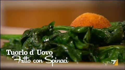 Tuorlo d'Uovo fritto con Spinaci - Benedetta Parodi - imenudibenedetta.la7.it | LA7 - Video e notizie su programmi TV, sport, politica e spettacolo