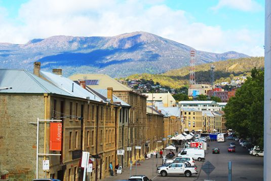 Hobart city that I stayed it is lovely lovely and beautiful place