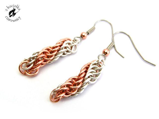 Z kociołka czarownicy: DNA - Spiral Wrap earrings