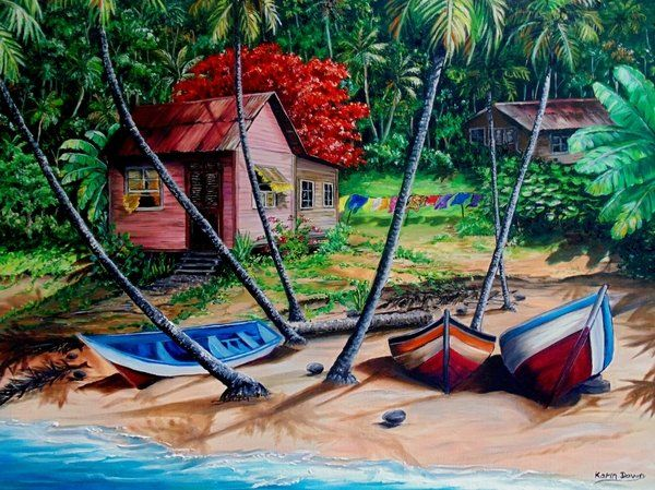 31 Best My Paintings Of Houses Images On Pinterest
